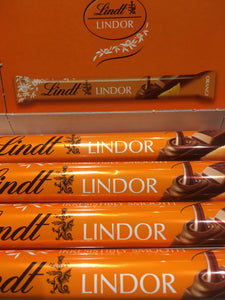 6x Lindt Lindor Milk Chocolate Orange Bars (6x38g)