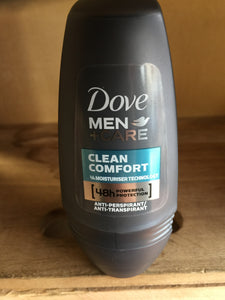 Dove Clean Comfort Anti-Perspirant For Men 50ml