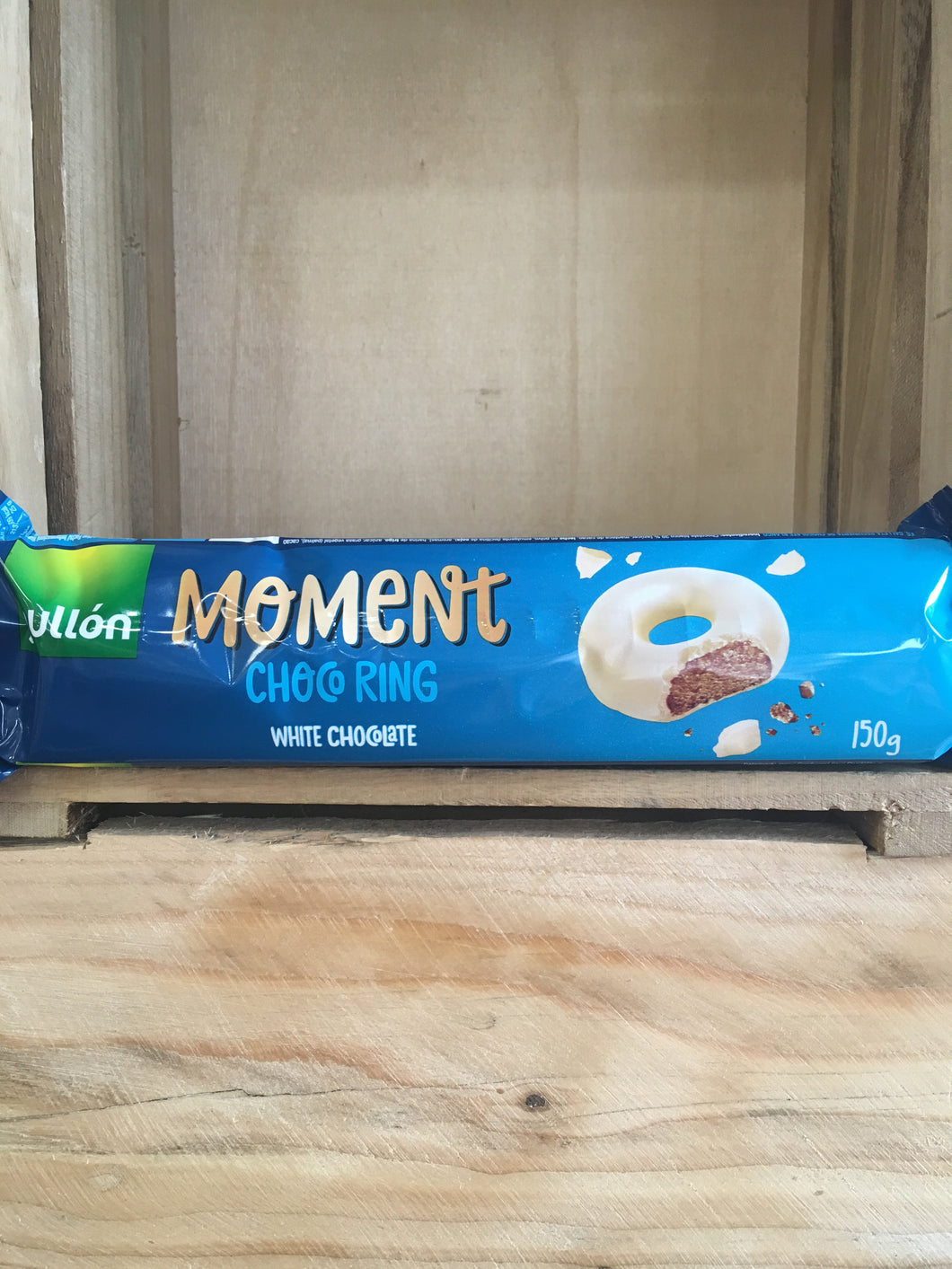 Gullon Moment Choco Ring White Chocolate Biscuits 150g