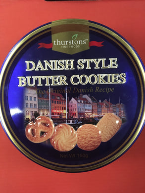 2x Danish Style Butter Cookies in Tin (2x150g)