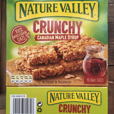 15x Nature Valley Crunchy Maple Syrup Cereal Bars (3 Boxes of 5x42g)