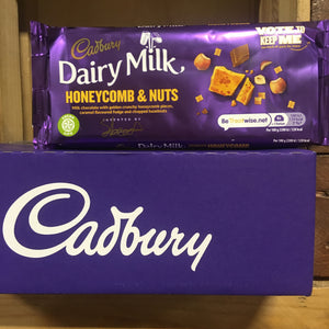 9x Cadbury Honeycomb & Nut Dairy Milk Bars (9x105g)