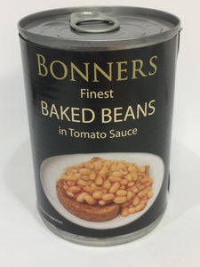 Bonners Finest Baked Beans in Tomato Sauce 400g