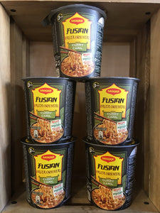 5x Maggi Fusian Curry Noodles Pot (5x61.5g)