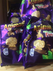 24x Cadbury Chocolate Mini Animals Biscuits (4x 6 Packs x22g)