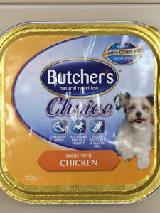 Butcher's Choice - Chicken Complete Meal for Adult Dogs 150g