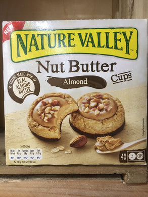 Nature Valley Nut Butter Cups Almond 4 Pack 140g (4x2 Cups)
