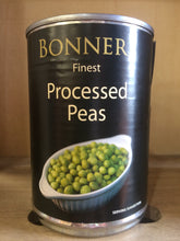 Bonners Finest Processed Peas 400g