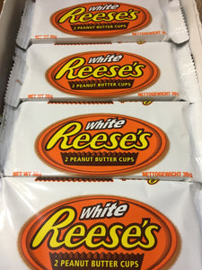 4x Reese's White 2 Peanut Butter Cups (4x39g)