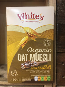White's Oat Muesli Four Seed Goodness 450g