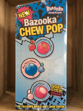100 Bazooka Lollipops with Soft Chew Centre 1.4Kg