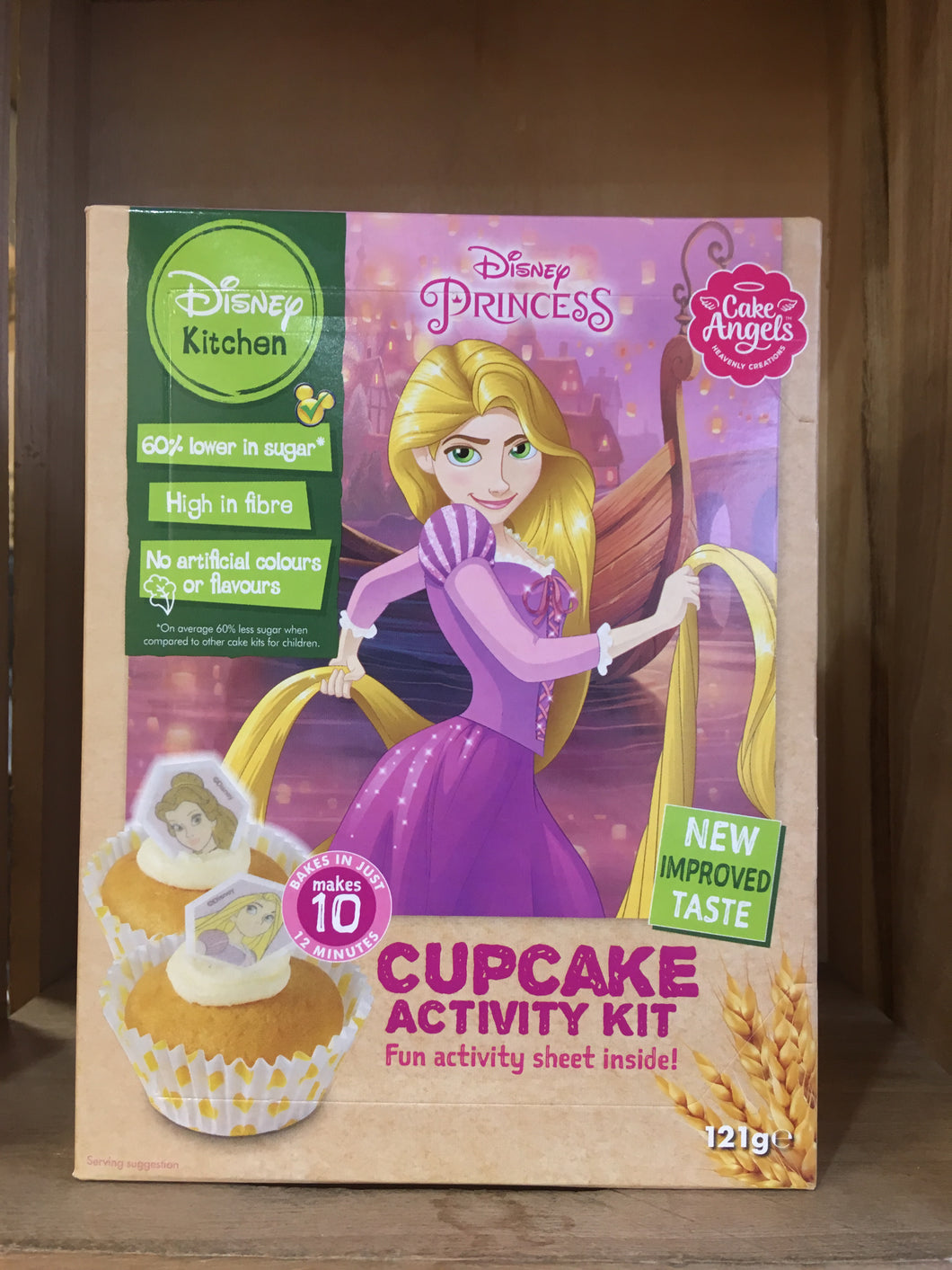 Cake Angels Disney Princess Cupcake Kit 125g
