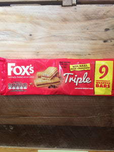 Fox's Triple Layered Biscuit 9 Bars
