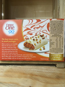 20x Fibre One Carrot Cake Bars (5 Packs of 4x25g)