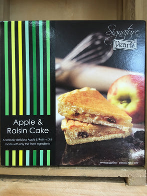 Pearl's Apple & Raisin Cake