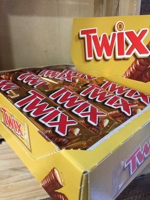 12x Twix Chocolate Bar 50g