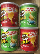 Pringles Sour Cream & Original Flavours Variety 4 Pack (4x40g Snack Size)