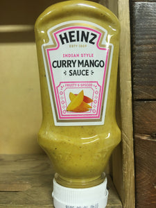 Heinz Indian Style Curry Mango Sauce 225g