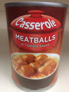 Casserole Chicken Meatballs in Tomato Sauce