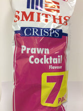 Smiths Crisps Prawn Cocktail Flavour 7 Pack (7x25g)