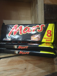 24x Mars Bar Snacksize (3x 8 Packs x 33.8g)