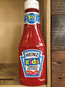 Heinz Tomato Ketchup for Kids 50% Less Sugar & Salt 330g