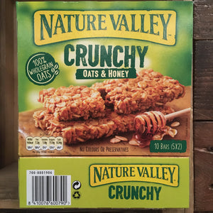 15x Nature Valley Crunchy Oats & Honey Cereal Bars (3 Boxes of 5x42g)