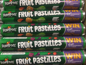 12x Rowntrees Fruit Pastilles Tubes (12x52.5g)