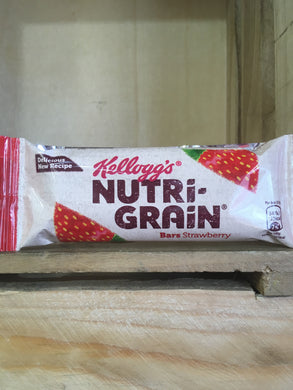 Kellogg's Nutri-Grain Bars Strawberry 37g