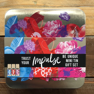 Impulse Mini Body Sprays Mini Tin Gift Set 3 Piece