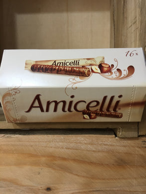Amicelli 16 Pack Chocolate & Hazelnut Wafer 16x12.5g