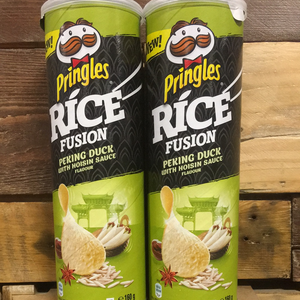 2x Pringles Rice Fusion Peking Duck with Hoisin Sauce Flavour (2x160g)