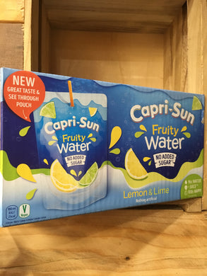 Capri-sun Fruity Water Lemon & Lime 10x200ml