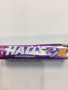Halls Blackcurrant Flavour Hard Boiled Sweets 33.5g