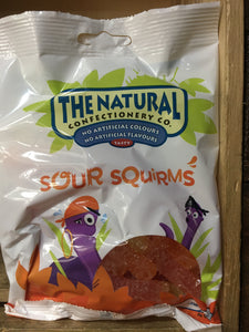 The Natural Confectionary Co. Sour Squirms 160g