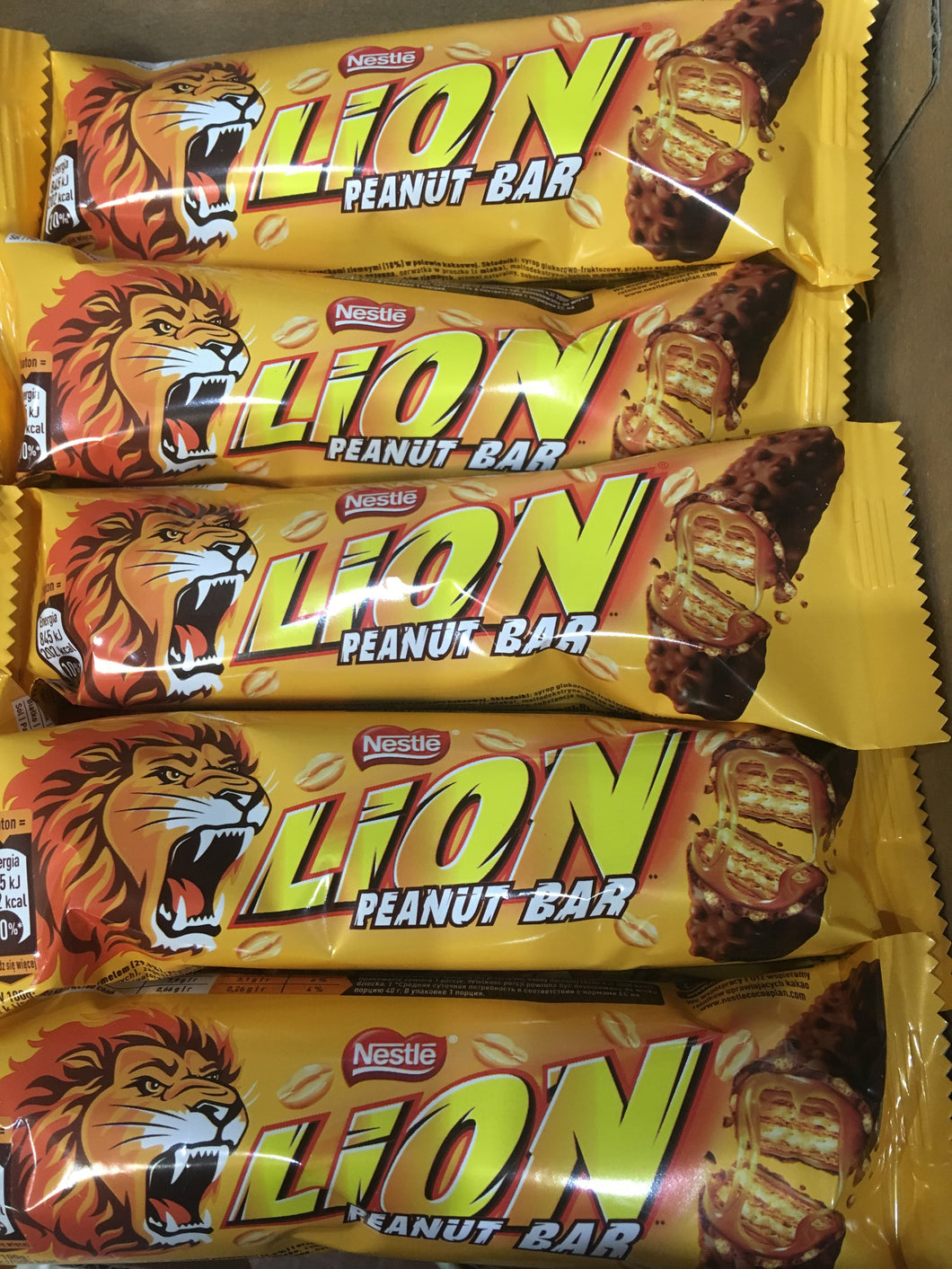 10x Nestle Lion Bar Peanut (10x40g)