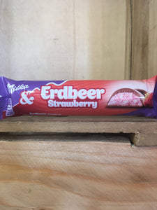 Milka and Strawberry Chocolate Bar 36.5g