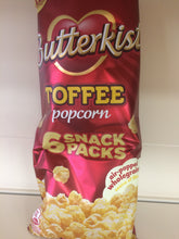 Butterkist Toffee Popcorn 6x 30g Snack Packs