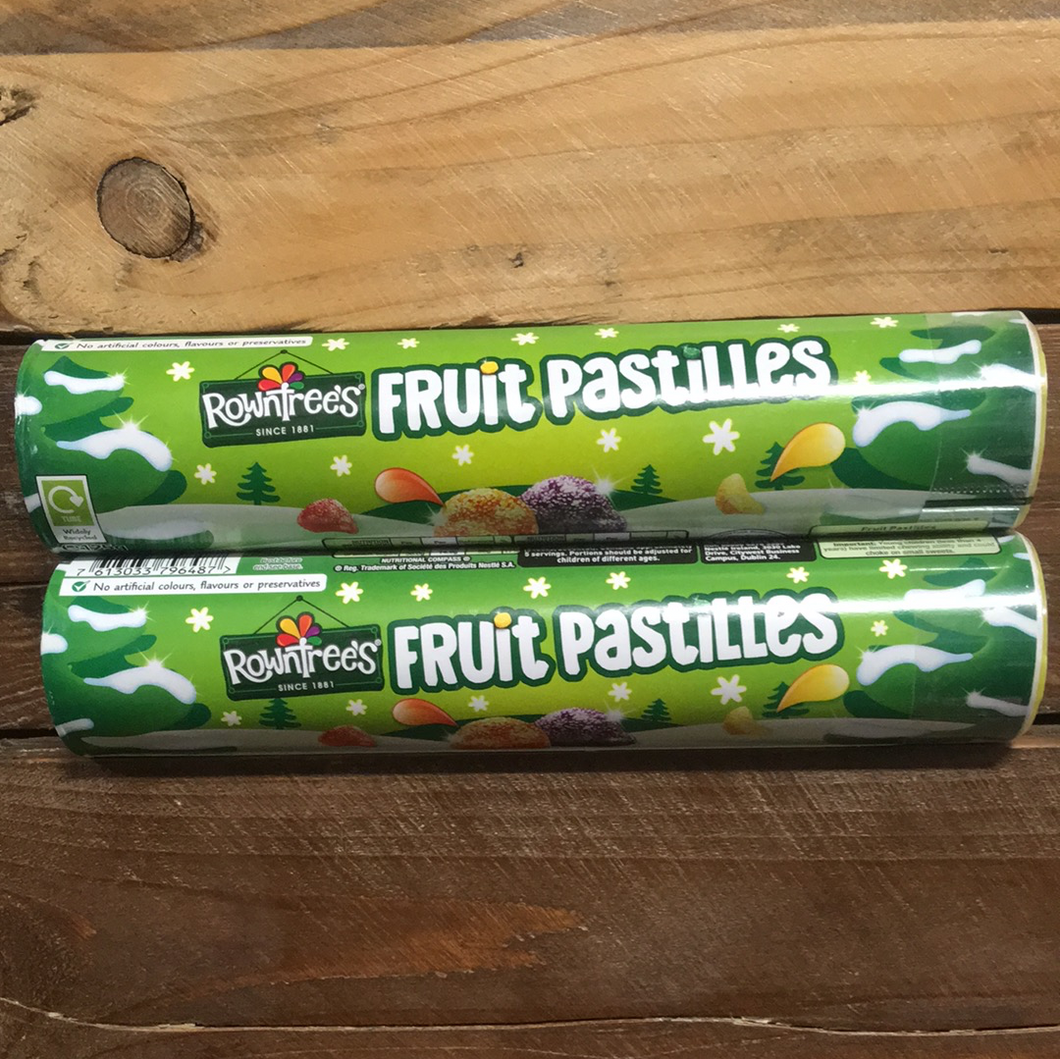 2x Rowntree's Fruit Pastilles Giant Tubes (2x125g)