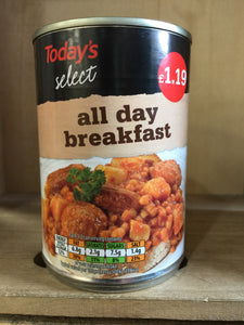 Todays Select All Day Breakfast 390g
