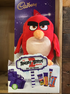 Cadbury Angry Birds Milk Chocolate Assorted & Red Toy 70g