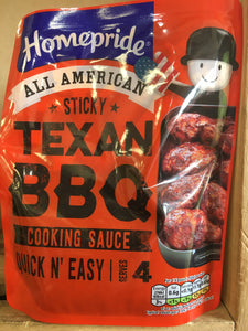Homepride Sticky Texan BBQ Cooking Sauce 200g