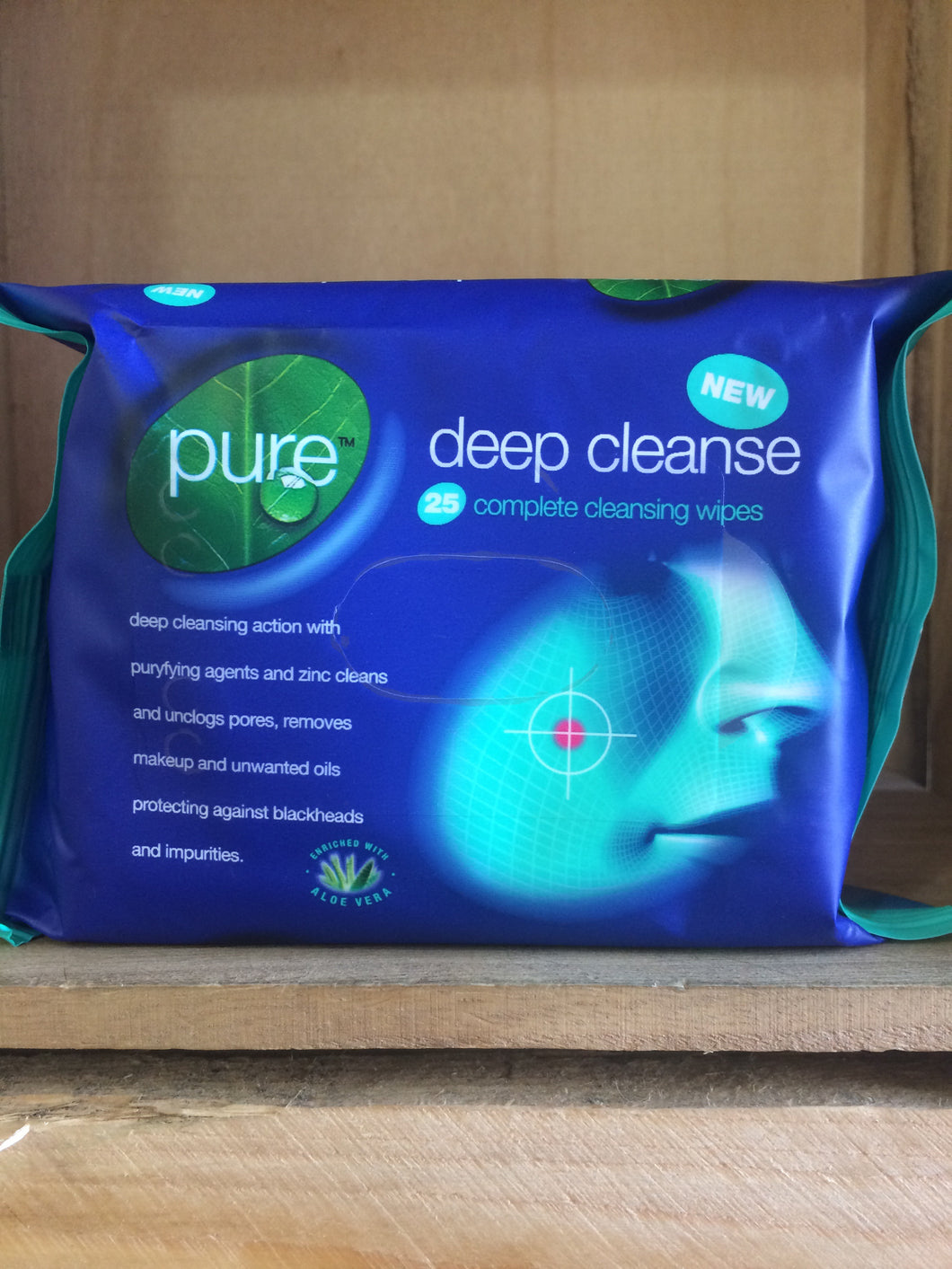 Pure Deep Clean Cleaning Wipes 25's