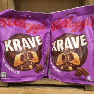 4x Kellogg's Krave Milk Chocolate Cereal (4x90g)