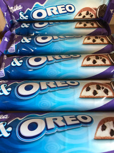 6x Milka Oreo Chocolate Bars (6x37g)