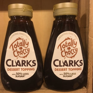 2x Clarks Totally Choccy Dessert Topping (2x320g)