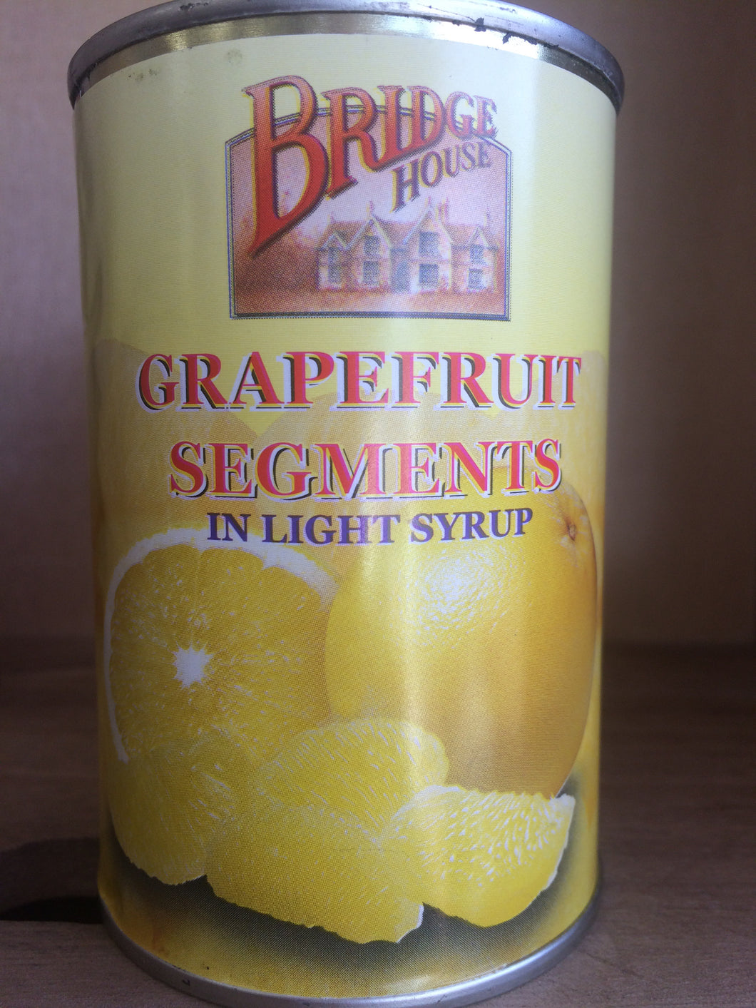 Bridge House Grapefruit Segments in Light Syrup 284g