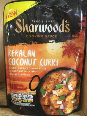 Sharwoods Keralan Coconut Curry Cooking Sauce 250g