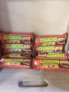 8x Nature Valley Sweet & Salty Peanut Bar 30g