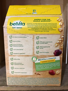 Belvita Soft Bakes Red Fruits 5 Pack 250g